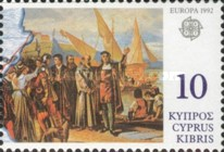 [EUROPA Stamps - The 500th Anniversary of the Discovery of America, type WX]