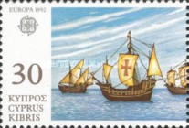 [EUROPA Stamps - The 500th Anniversary of the Discovery of America, type WY]