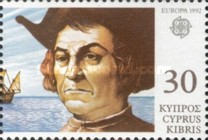 [EUROPA Stamps - The 500th Anniversary of the Discovery of America, type WZ]
