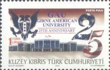 [The 25th Anniversary of the American university - Girne, type AAZ]