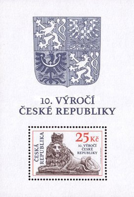 [The 10th Anniversary of Czech Republic, type ]