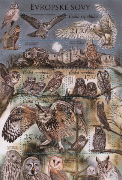 [Nature Protection - Owls, type ]