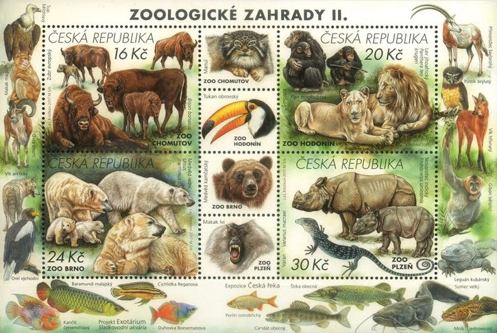 [Nature Protection - Zoological Gardens, type ]