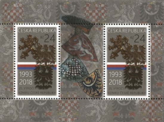 [The 25th Anniversary of the Czech Republic, type ]