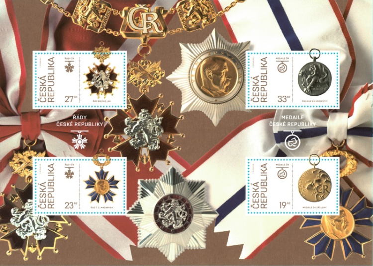 [The 100th Anniversary of Independent Czechoslovakia - Orders and Medals, type ]