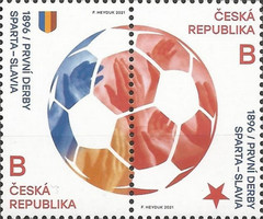 [The 125th Anniversary of the Prague Dirby AC Spart - SK Slavia, type ]