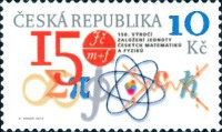 [The 150th Anniversdary of the Foundation of The Union of Czech Mathematicians and Physicists - JČMF, type AAC]
