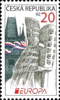 [EUROPA Stamps - Visit the Czech Republic, type AAH]