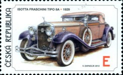 [Classic Cars - Self Adhesive Stamps, type ABC]