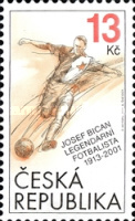[The 100th Anniversary of the Birth of Josef Bican, 1913-2001, type ACU]
