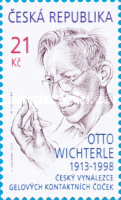 [The 100th Anniveersary of the Birth of Otto Wichterle, 1913-1998, type ACZ]