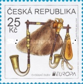 [EUROPA Stamps - Musical Instruments, type ADO]