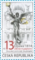 [The 200 Anniversary of Museology: Opava 1814 - The Silesian Land Museum, type ADP]