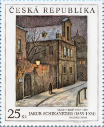 [Art on Stamps - Paintings, type AEH]