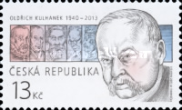 [The Tradition of Czech Stamp Design - Oldřich Kulhánek, 1940-2013, type AEO]
