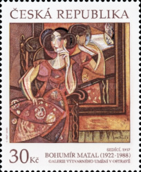 [Works of Art on Stamps, type AGD]