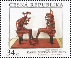 [Works of Art on Stamps, type AGE]