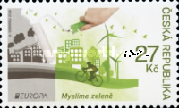 [EUROPA Stamps - Think Green, type AGQ]