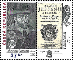 [The 450th Anniversaery of the Birth of Jan Jessenius, 1566–1621 - Joint Issue with Hungary, Poland & Slovakia, type AGZ]