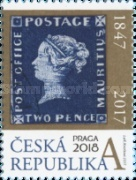 [Stamps on Stamps - Blue Mauritius, type AIV]