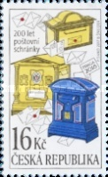 [The 200th Anniversary of Letter Boxes, type AIY]