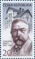 [The 150th Anniversary of the Birth of František Hamza, 1868-1930, type AJP]