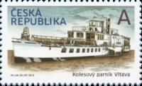 [Historical Vehicles - Paddle Steamer Vltava, type AKA]