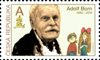 [Tradition of Czech Stamp Design - Adolf Born, 1930-2016, type ALV]