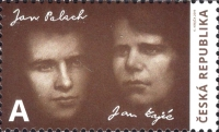 [The 50th Anniversary of the Death of Jan Palach, 1948-1969 and Jan Zajíc, 1948-1969, type AMN]