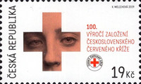 [The 100th Anniversary of Czechoslovak Red Cross, type ANF]