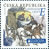 [EUROPA Stamps - Ancient Postal Routes, type ANW]