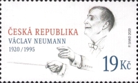 [Personalities - The 100th Anniversary of the Birth of Václav Neumann, 1920-1995, type AOA]