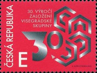 [The 30th Anniversary of the Visegrad Group - Joint Issue with Hungary, Poland, and Slovakia, type API]