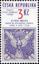 [The Tradition of Czech Stamp Printing, type BK]