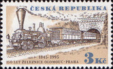 [The 150th Anniversary of the Railway Connection Olomouc-Prague, type CB]