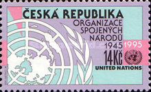 [The 50th Anniversary of the United Nations, type CL]