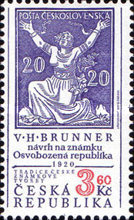 [Tradition of Czech Stamp Printing, type EC]