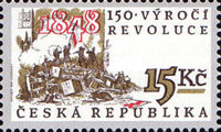 [The 150th Anniversary of the 1848 Revolution, type GG]