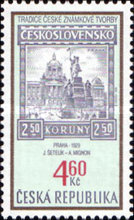 [The Tradition of Czech Stamp Printing, type GR]
