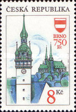 [Beautiful Homeland - The 750th Anniversary of Brno, type I]