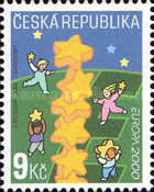 [EUROPA Stamps - Tower of 6 Stars, type IR]