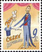 [The First Czech Postage Stamp Issued in the New Century, type JN]