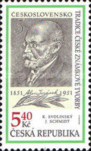 [The Tradition of Czech Stamp Printing, type JP]