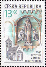 [The 1000th Anniversary of Czech Architecture, type JS]