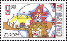 [EUROPA Stamps - The Circus, type LB]