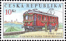 [The 100th Anniversary of the First Electric Railroad Connection, type MN]
