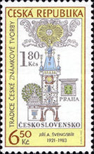 [The Tradition of Czech Stamp Printing, type NP]