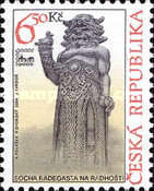 [International Philatelic Exhibition , BRNO 2005- Slavic God Radigost Statue, type OF]