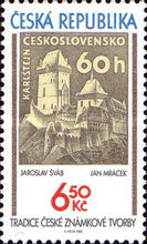 [The Tradition of Czech Stamp Printing, type OY]