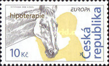[EUROPA Stamps - Integration Through the Eyes of Young People - Therapy for the Rehabilitation of the Handicapped, type QW]